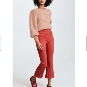 Ulla Johnson Ellis pant jean 2 ochre red